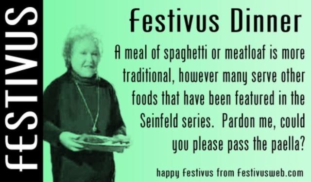 festivus dinner