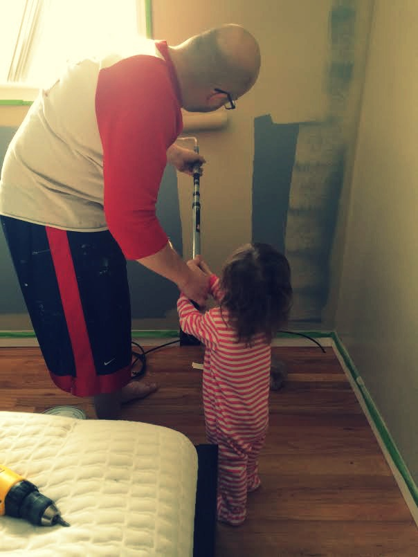 Za and Dad Painting