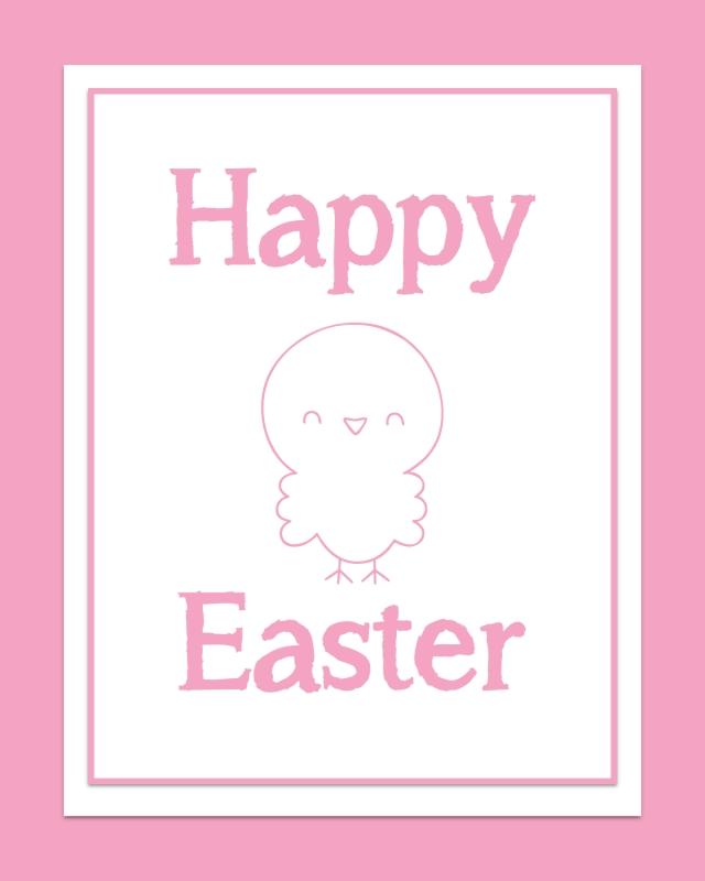 Free Easter Print #2 - 8x10