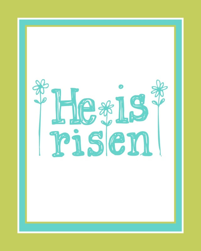 Free Easter Print #5 - 8x10