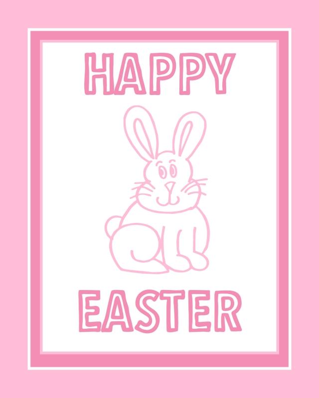 Free Easter Print #6 - 8x10