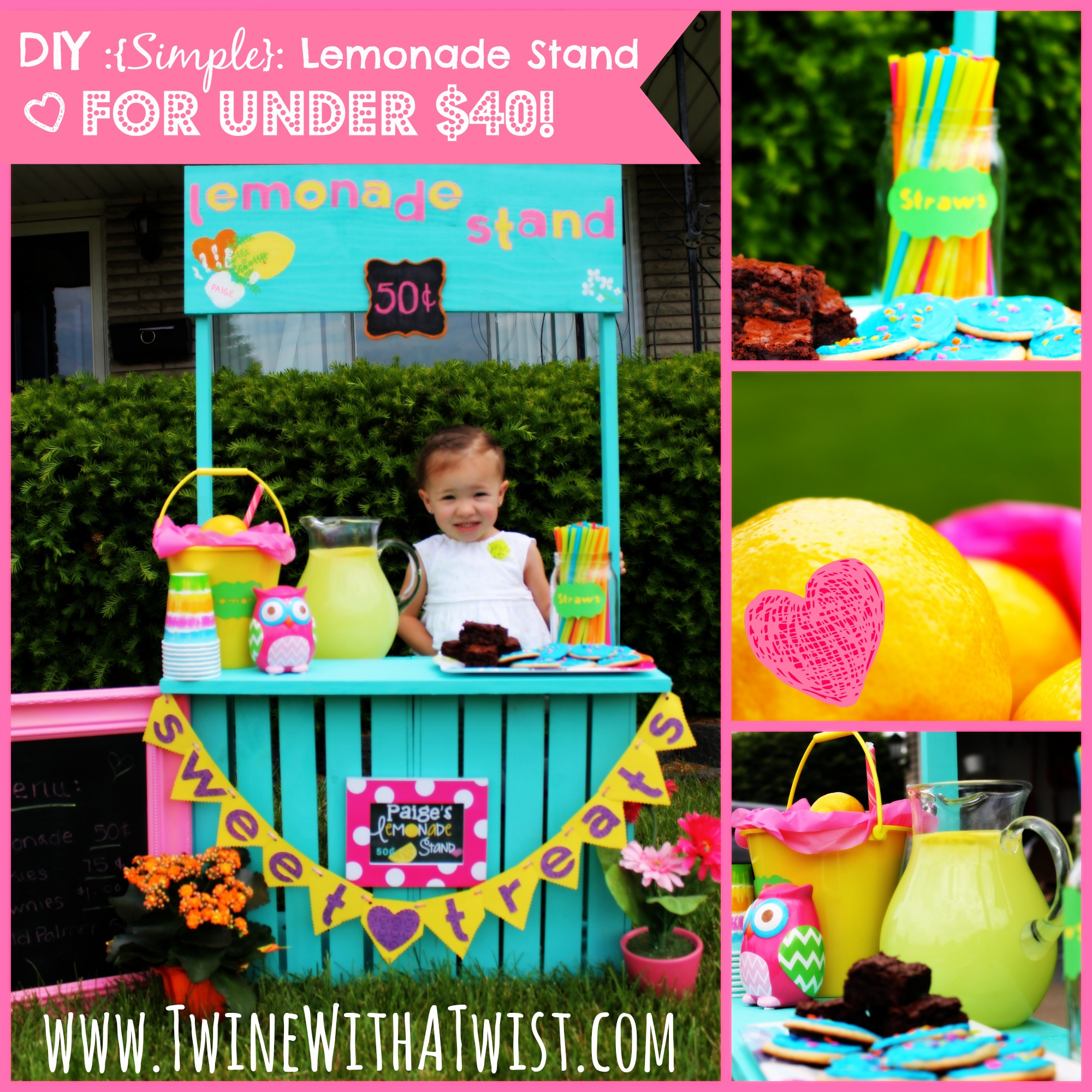 diy simple lemonade stand under 40 guest post